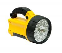 Фонарь Ultra Flash LED 3712 19LED желт